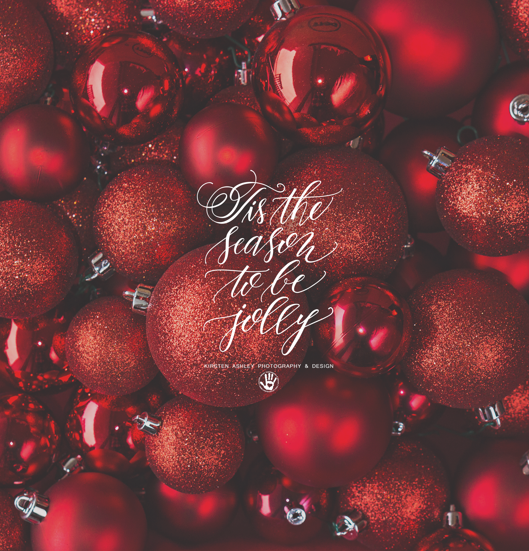 December Freebie | Holiday Lock Screen Wallpaper | Kirsten Ashley  Photography U0026 Design